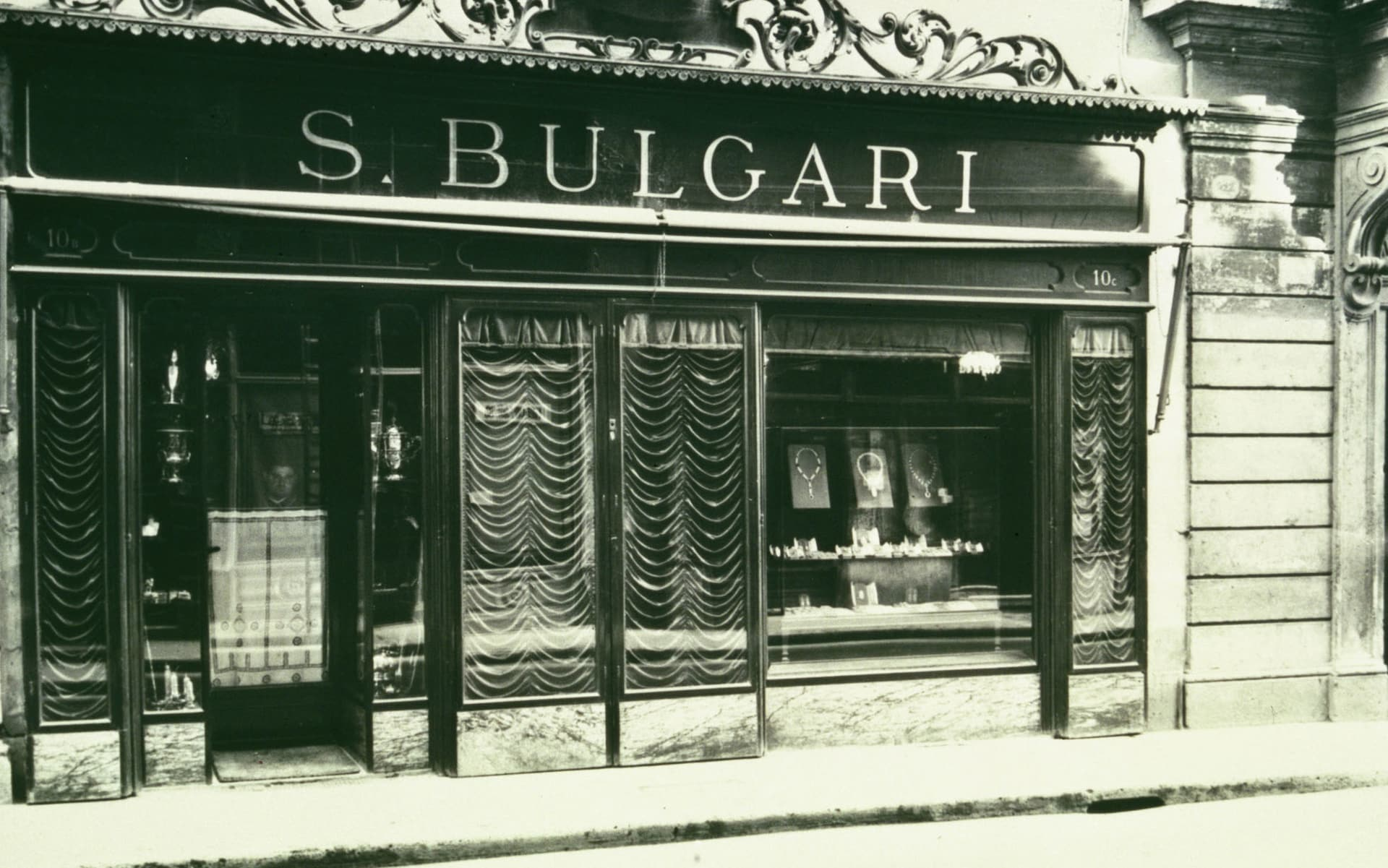 Sotirios Boulgaris' first store in Rome