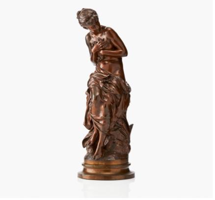 Mathurin Moreau (France 1822‑1912) Venus au bain