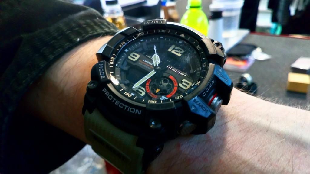 Todays Wristshot: Casio G-SHOCK, GG-1000 (photo: Johan Sehlstedt)