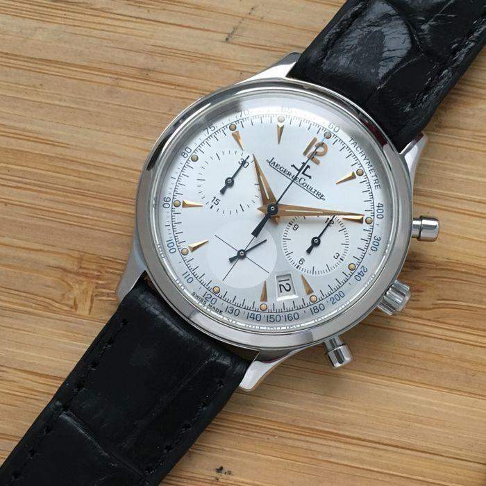 JAEGER-LECOULTRE. Reloj Master Control Chronograph en acero (2000)