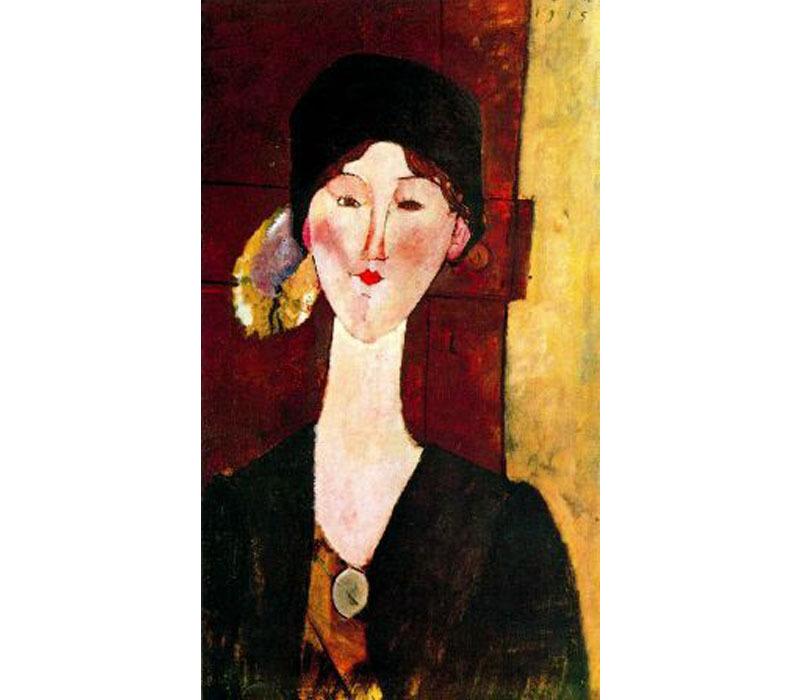 Amedeo Modigliani, 'Béatrice Hastings', 1915