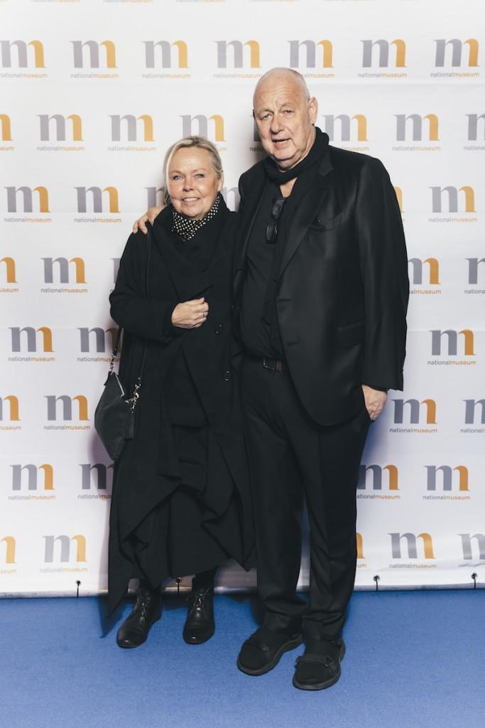 Hedersgäst. Karin och arkitekt Gert Wingårdh, som är en av huvudpersonerna i projektet