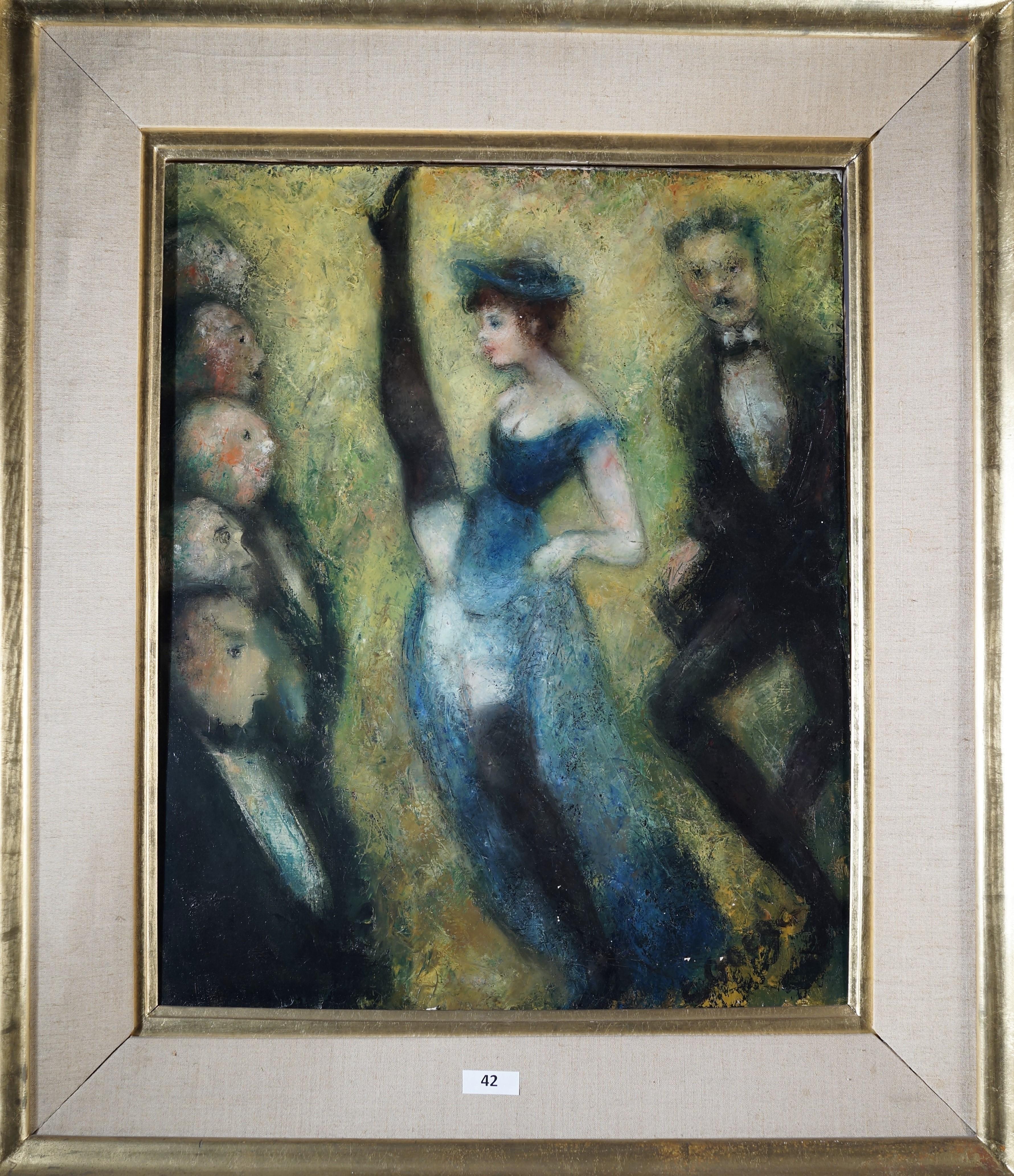 EDOUARD-JOSEPH GOERG (1893-1969) - La French-Cancan, Öl/Lwd., signiert und datiert, 1952