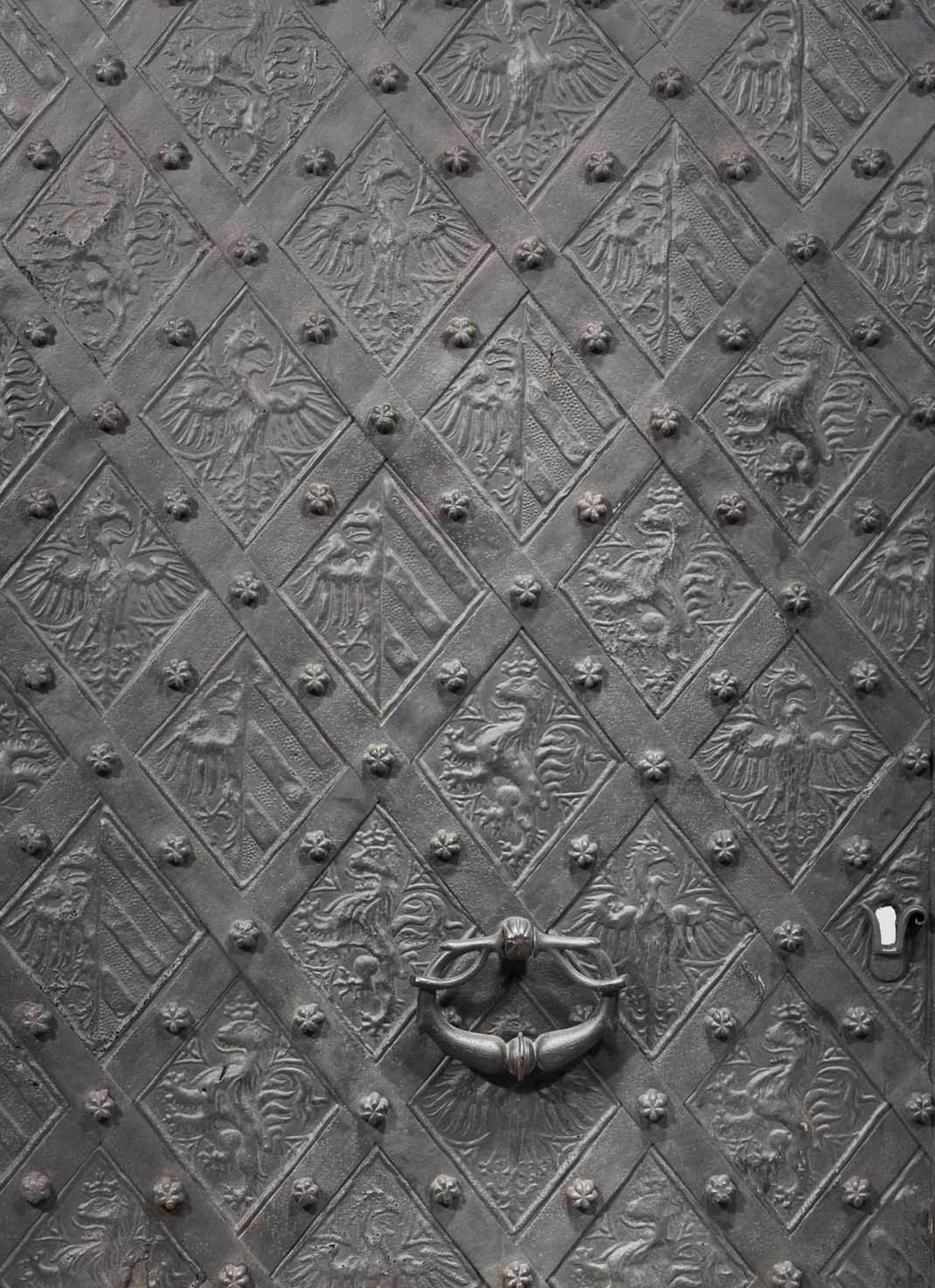Gotische Zimmertür, Nürnberg um 1400
