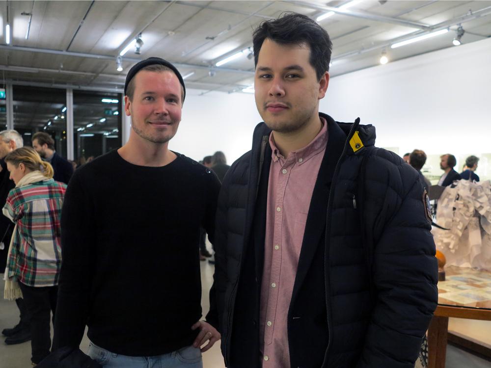 Erik Jonsson och Tony Axelsson