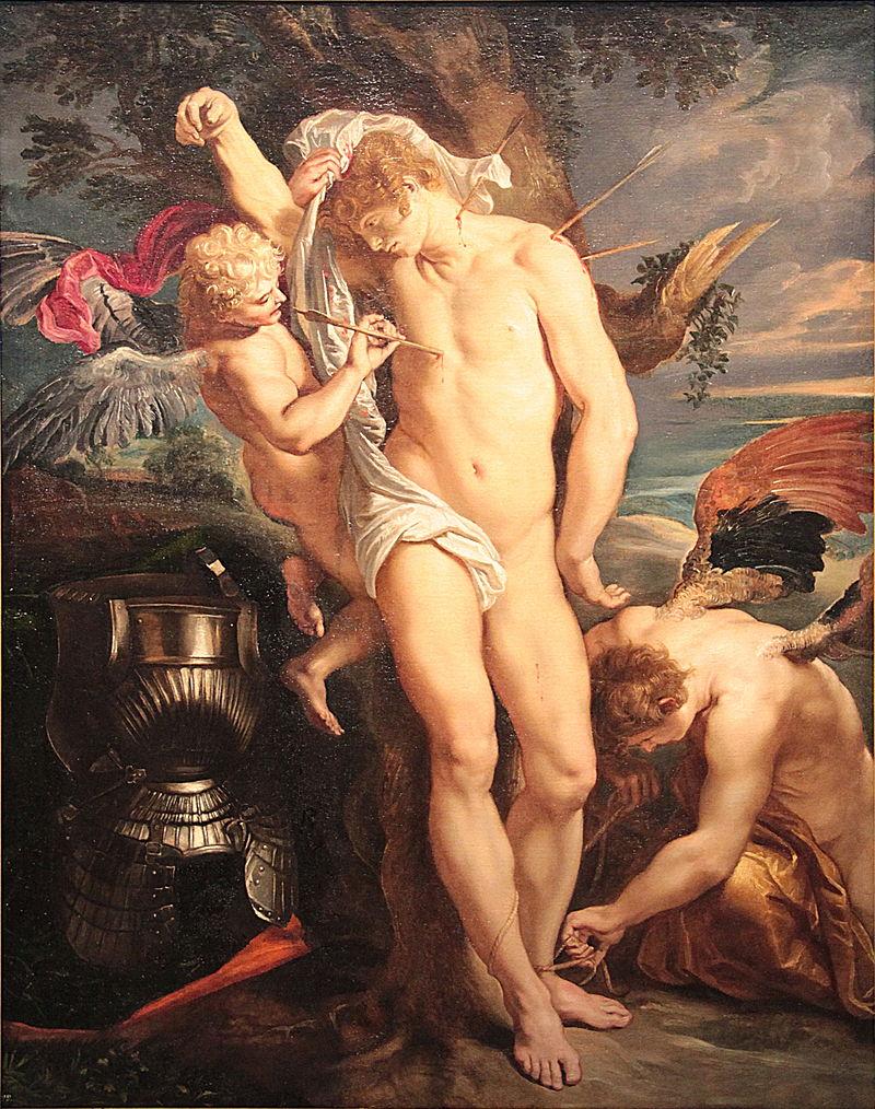"""Rubens, """"Saint Sebastian"""". Foto via Wikimedia Commons."""