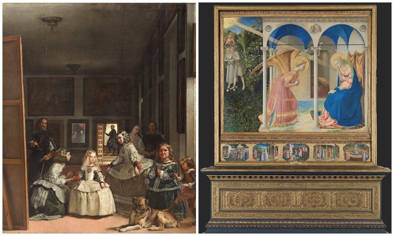 Velázquez y Fra angelico