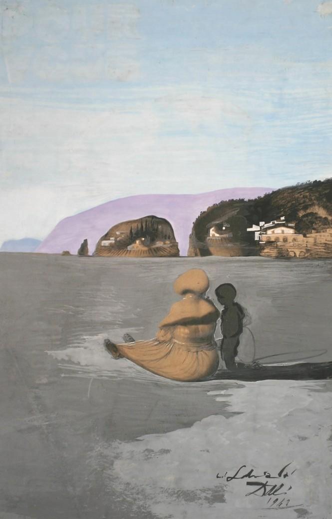 Salvador Dalí, Andolescence, 1941.