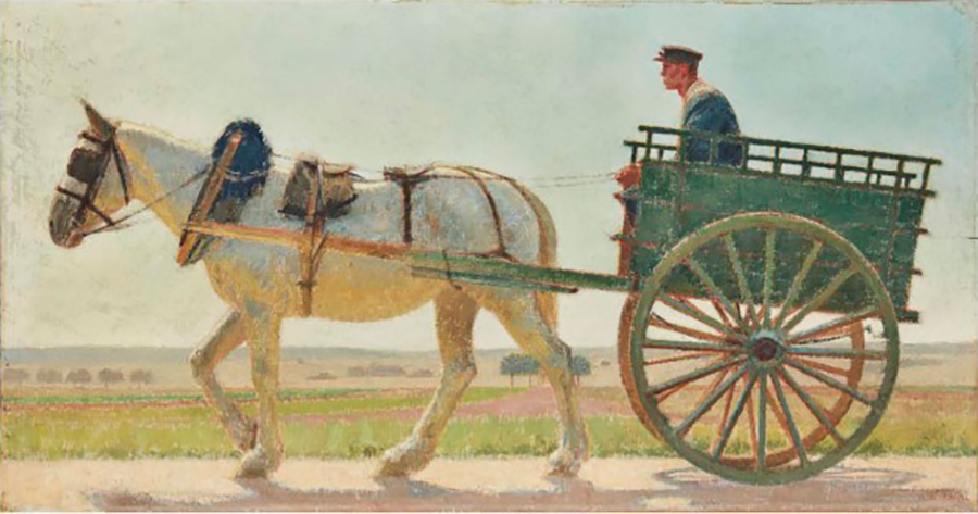 Bernard Boutet de Monvel, La Charette, 1906