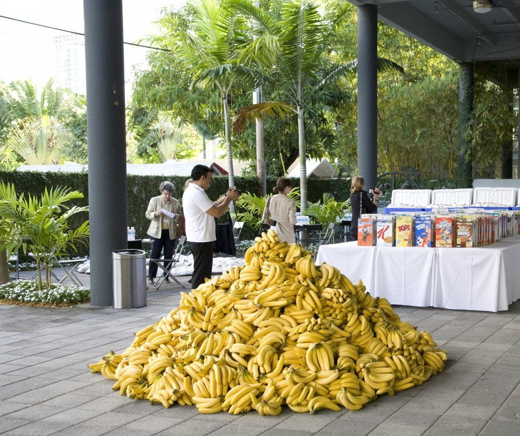 Jennifer Rubell, American Morning, Breakfast Project, 2008 Image via Jennifer Rubell