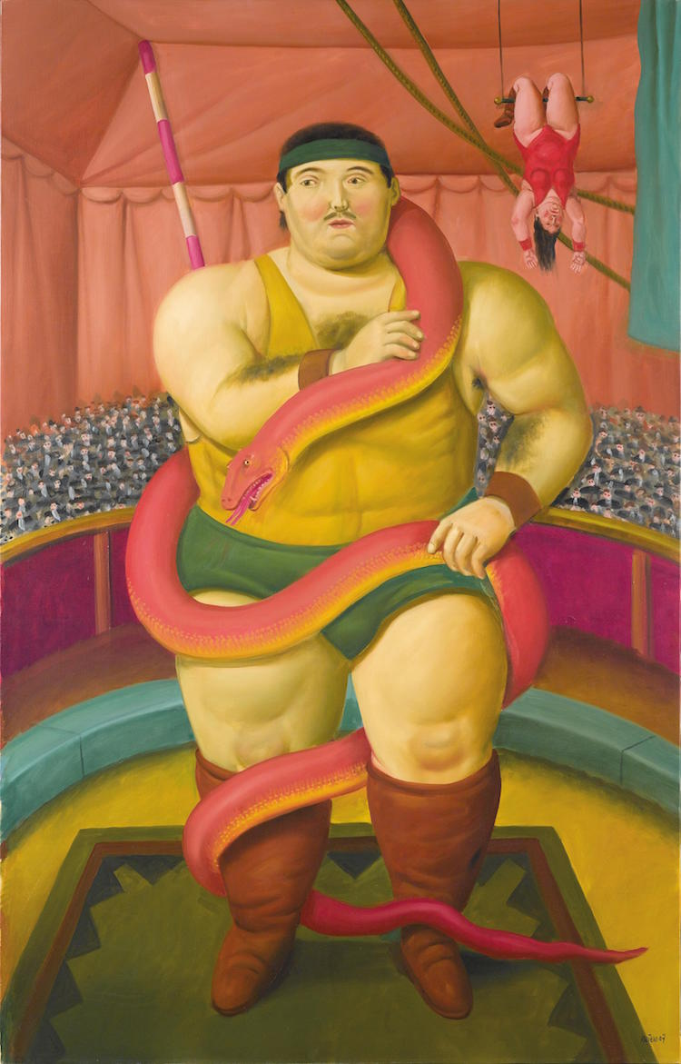 Fernando Botero Mínimo estimado: 400 000 EUR Dorotheum