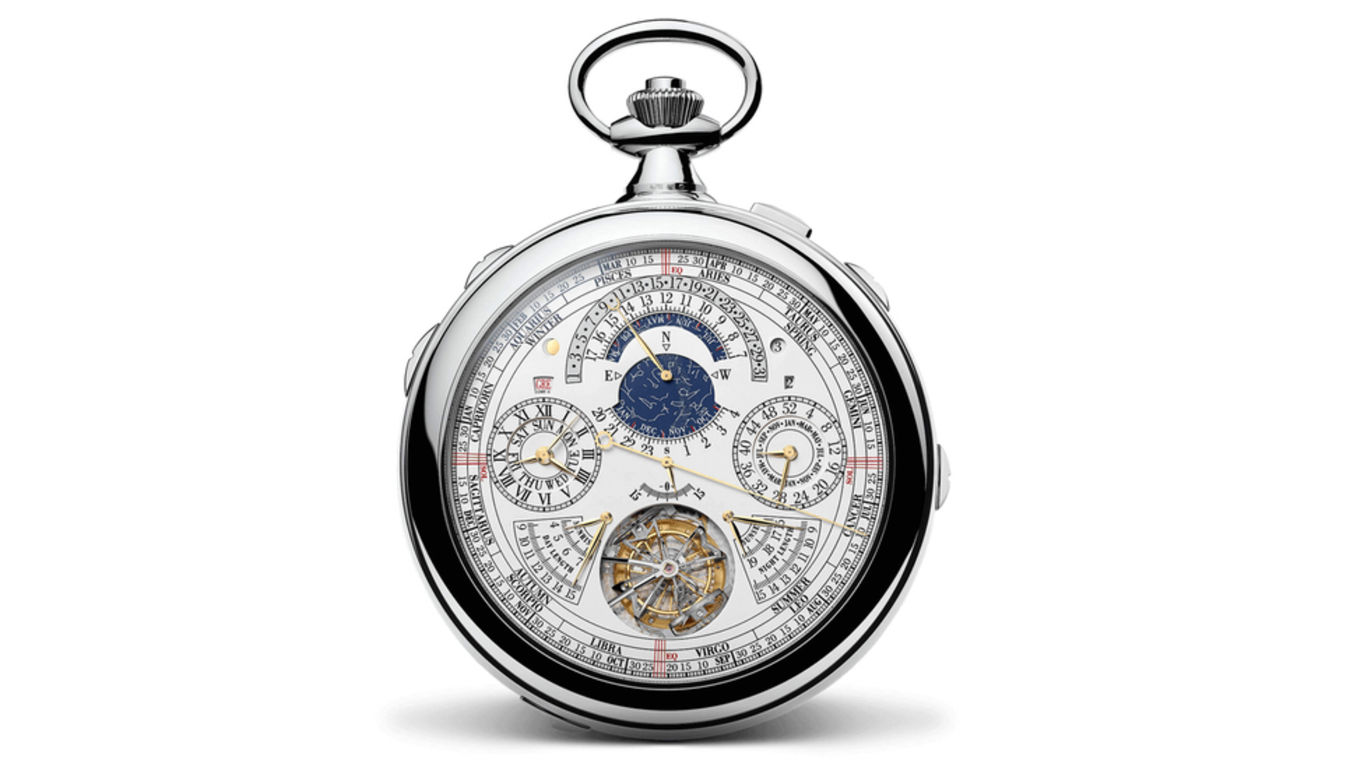 Det här är ett av världens dyraste ur. Vet du vad modellen heter?