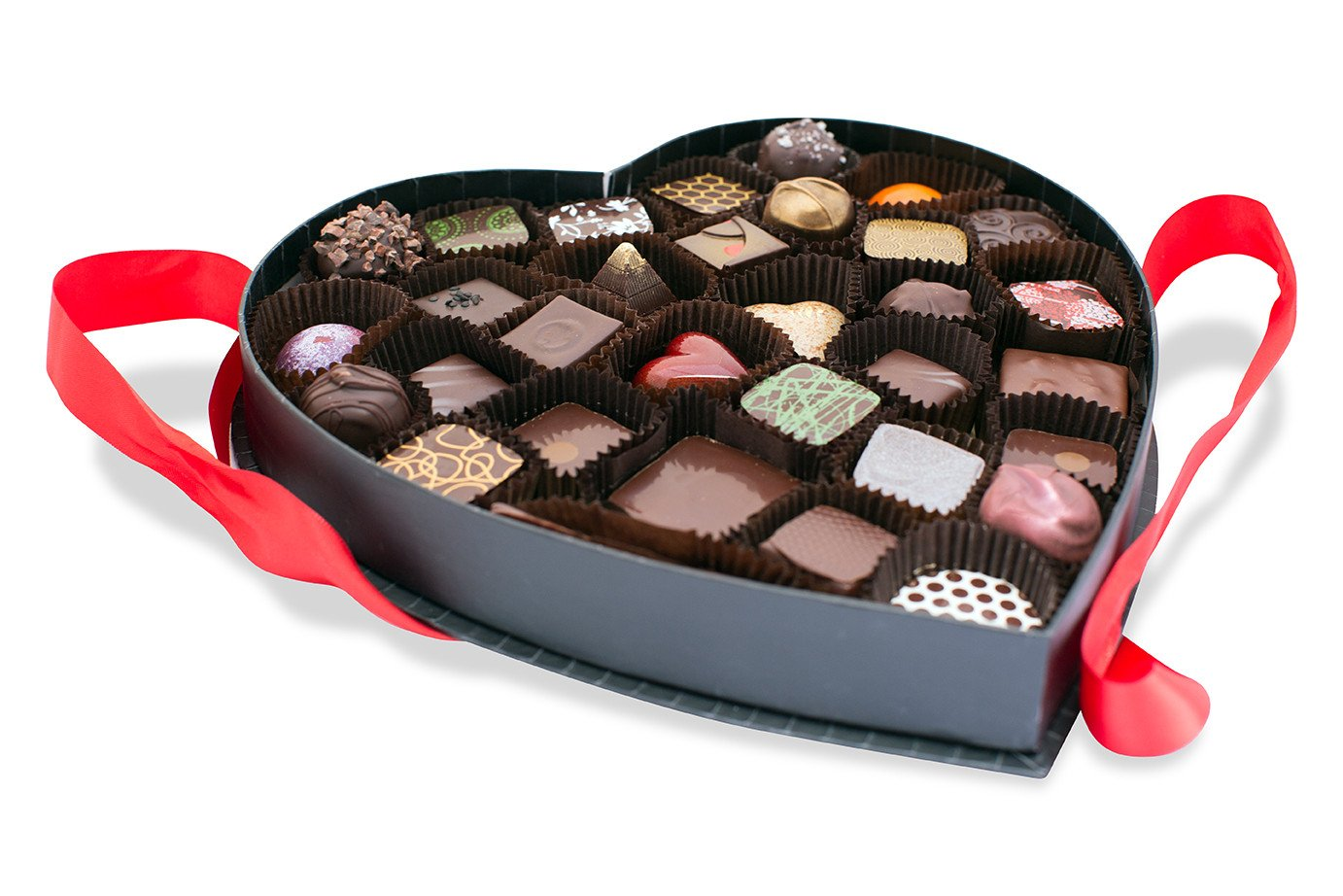 23-handmade-chocolates-heart-shaped-box