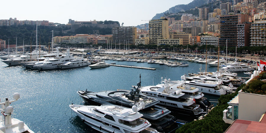 Yachts in Antibes where the theft occurred. Image: Flying Fish Online