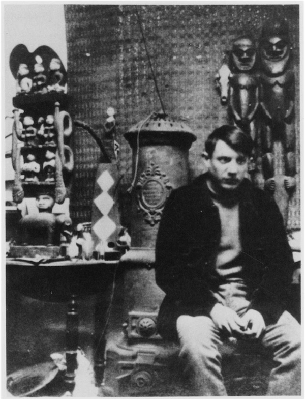 picasso-in-his-studio-post-colonial-thoughts