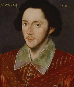 The Grafton Portrait. Bild via Wikipedia.