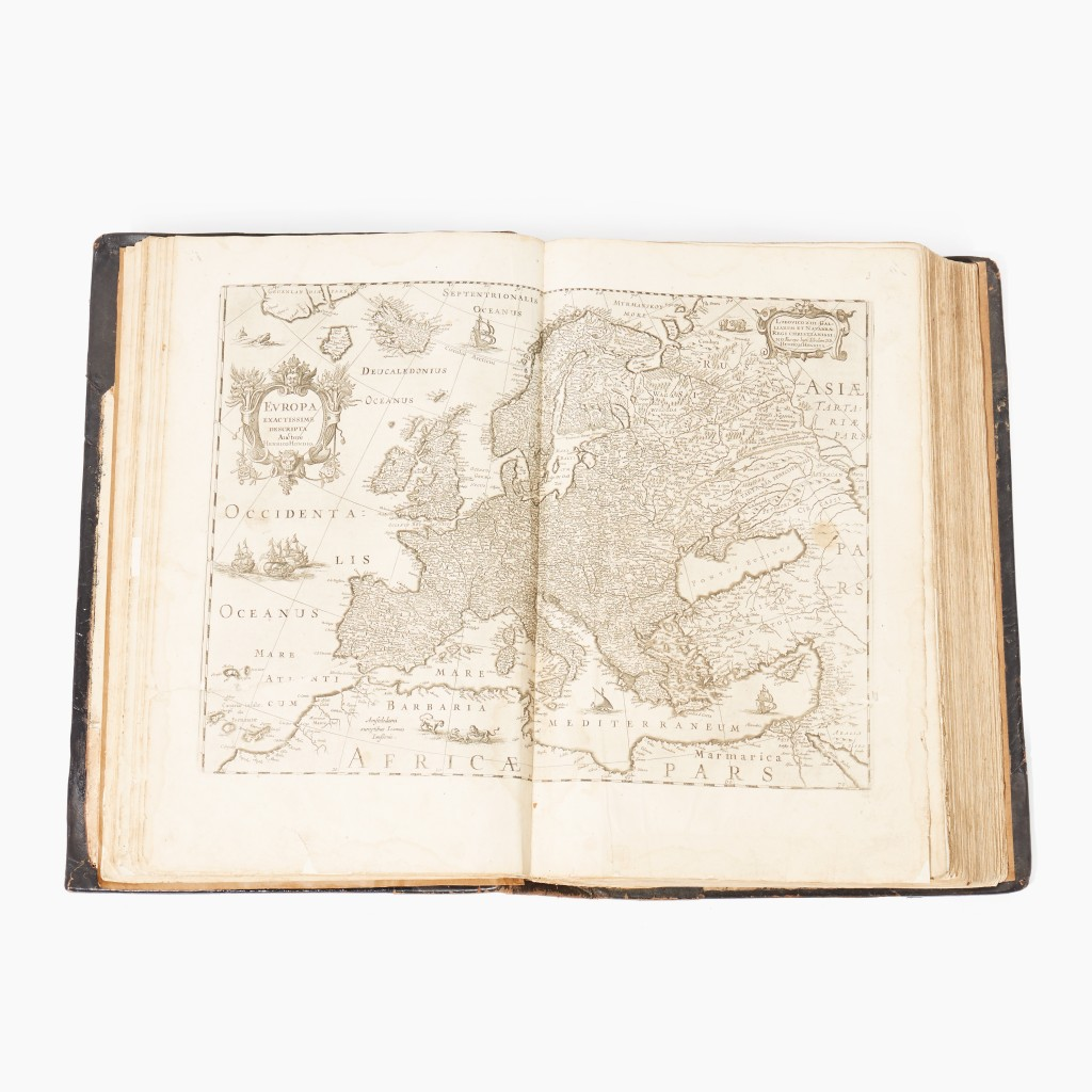 Johannes Janssonius, Atlas contractus 1666