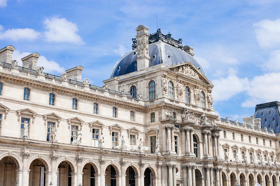 Das beliebteste Museum der Welt im Jahr 2017: Der Louvre in Paris.