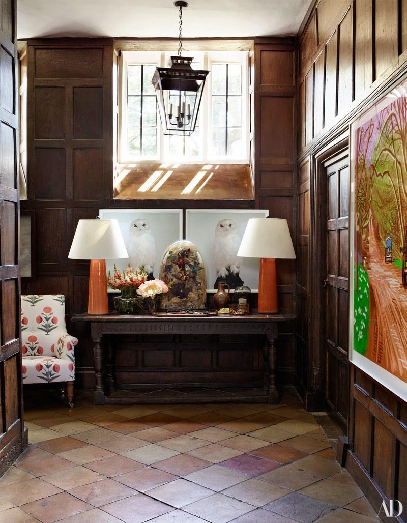Inside Claudia Schiffer's Tudor Mansion, England
