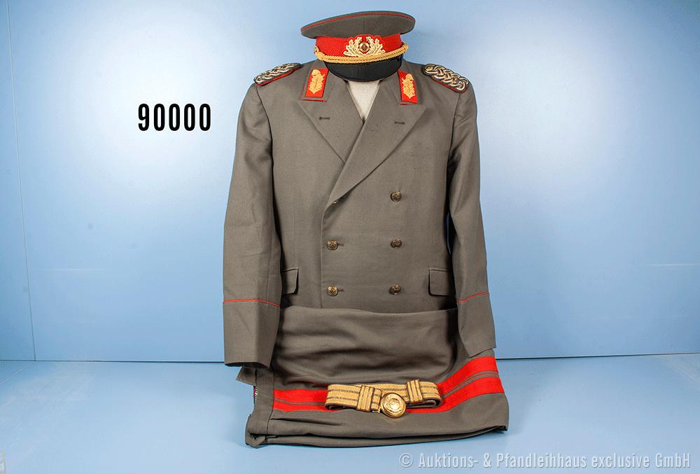 DDR - Frühe Uniform eines Generalmajors der Landstreitkräfte, 1960er Jahre