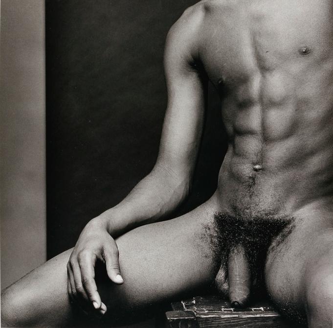 "Robert Mapplethorpe, ""Eric"", 1980 Foto: Sotheby's."