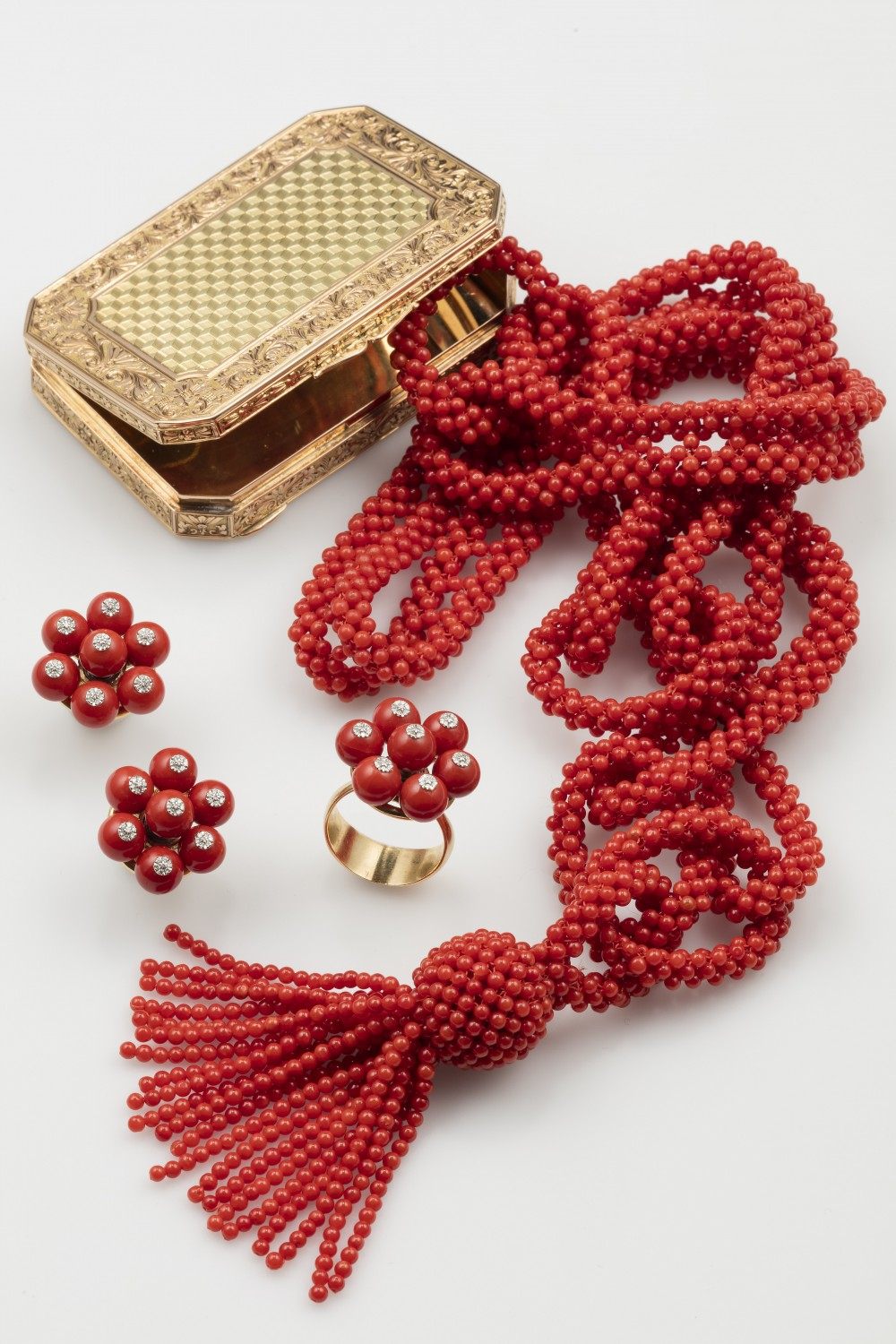 The Fine Coral Jewels auction takes place on 7 June.