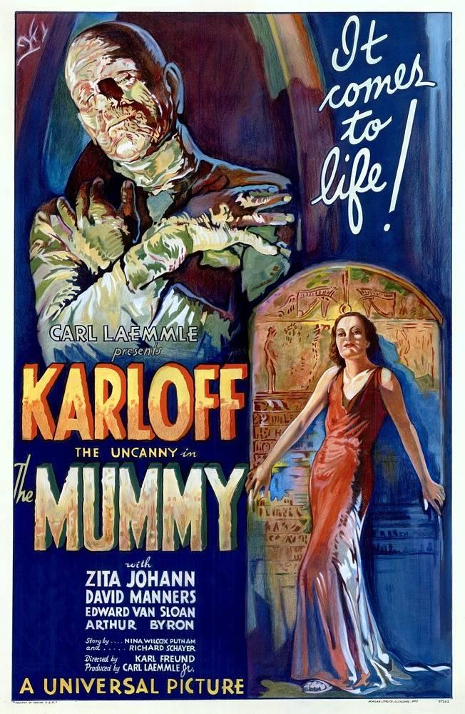"""""""The Mummy"""" (1932, Universal Pictures), Plakat für den US-Markt"""