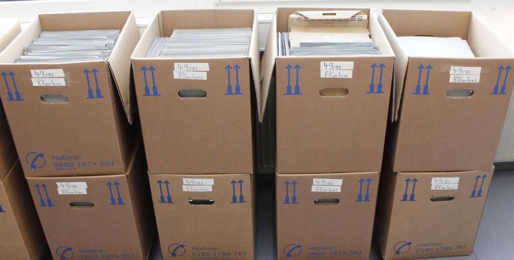 DEUTSCHES REICH - Sammlung von überwiegend vollständigen Originalbogen sowie auch diversen Bogenteilen Ausruf: 18.000 EUR