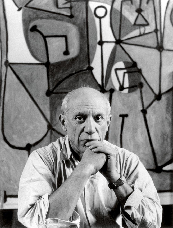 Rekorhållaren Pablo Picasso.