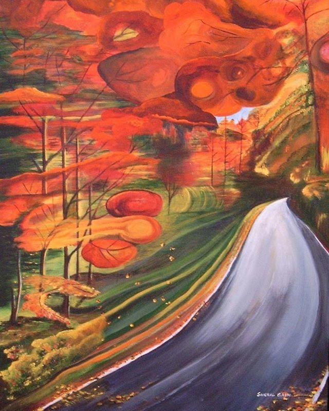 Oeuvre de Sherillyn Bain - Art! Vancouver