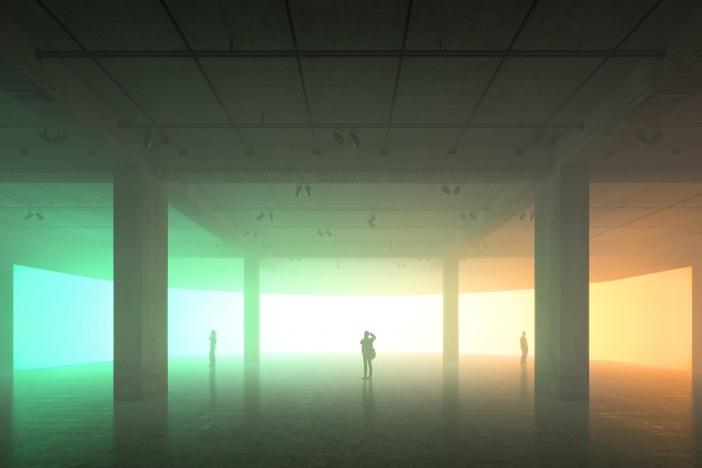Tank sud de la Tate Modern © Peter Saville, Hayes Davidson and Herzog & de Meuron