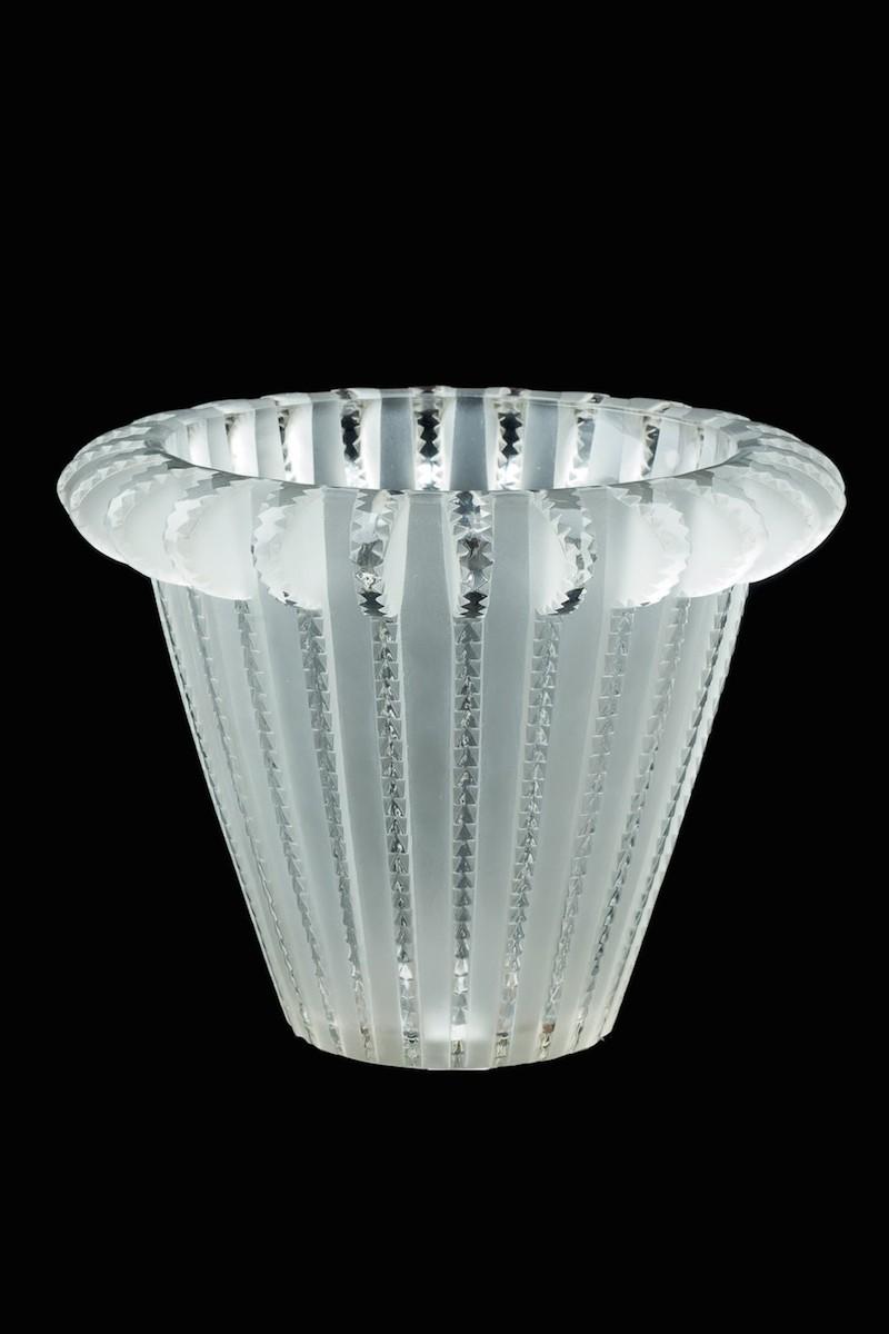 Centro de mesa en vidrio Lalique