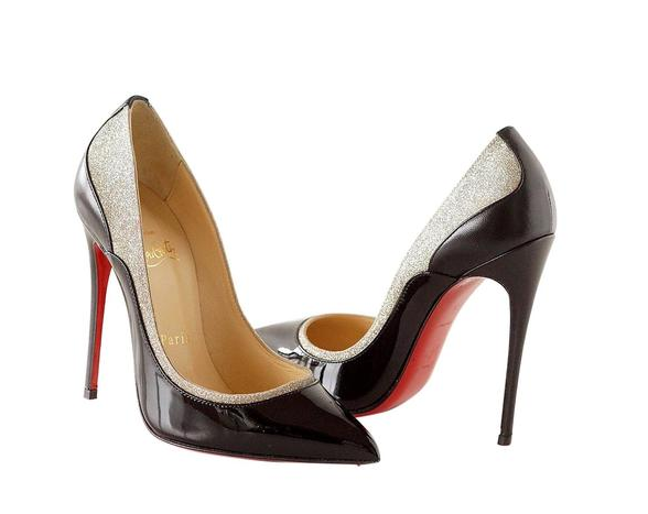 Chaussures Louboutin, modèle Pigalle, taille 35 Mighty Chic