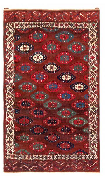 Igdir Hauptteppich, Wolle, 304 x 189 cm, Turkmenistan, erste Hälfte 19. Jhdt. Schätzpreis: 40.000 - 60.000 EUR
