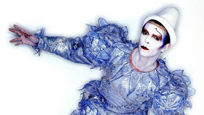 Bowie som Commedia dell'arte figuren Pierrot the Clown Foto: torontoist.com