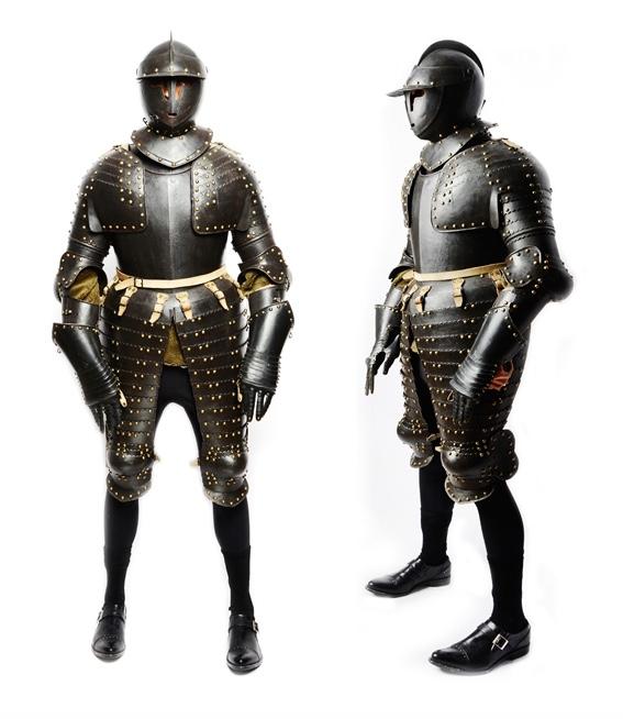Rüstung eines Offiziers, Nürnberg um 1620