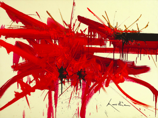 « Seuil ultime », 1988, 50 000 - 70 000 euros, image ©Leclere