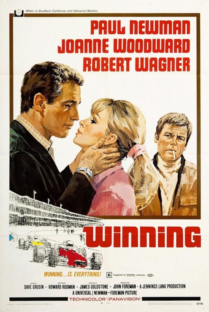 El cartel de la película 500 millas (Winning)