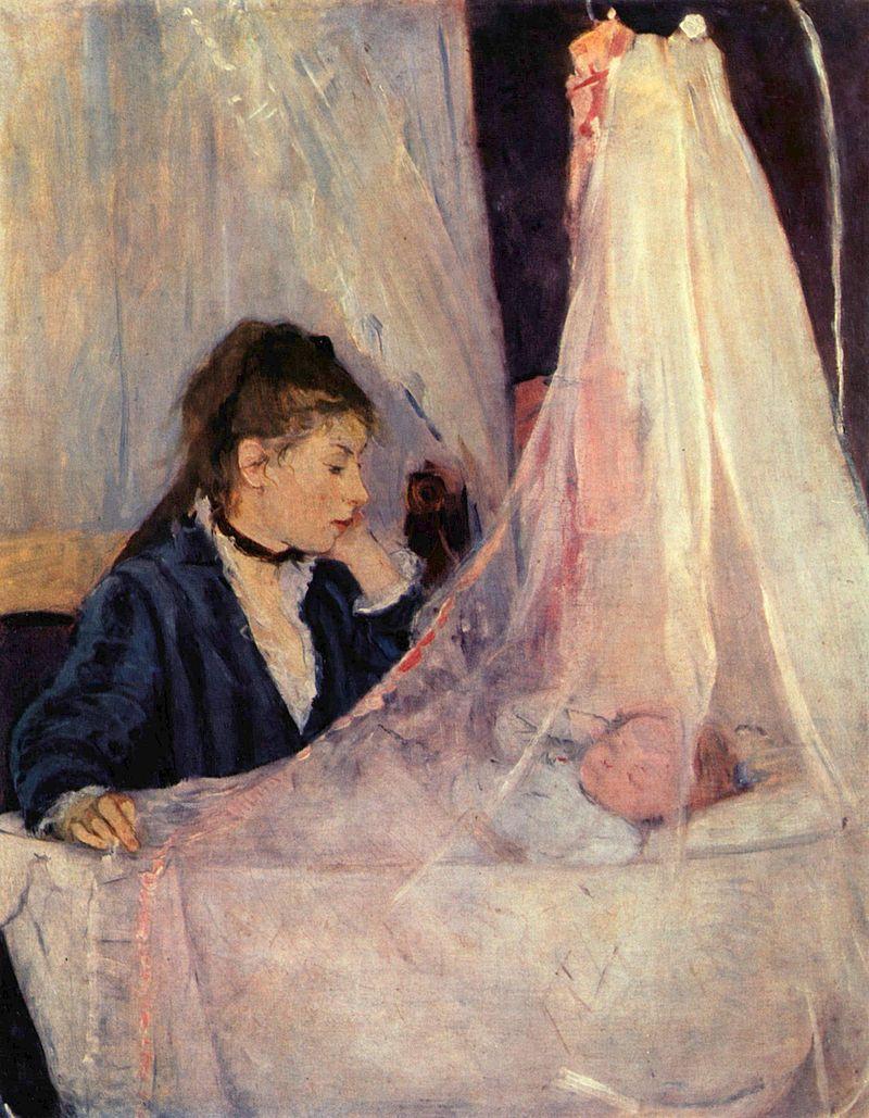 Berthe Morisot, Die Wiege, 1873 Musée d'Orsay, Paris