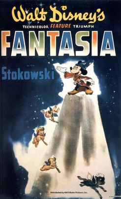 L'affiche de Fantasia en 1940 Image via Wikipedia