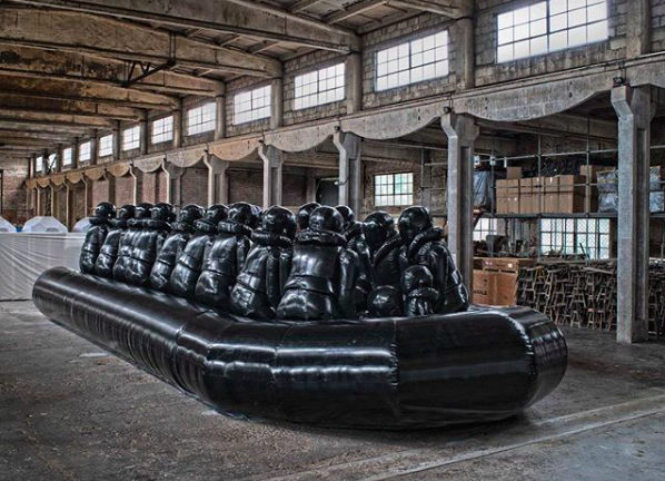 Law of the Journey (Prototype B), 2016, created in the Beijing studio. Image: Instagram @aiww