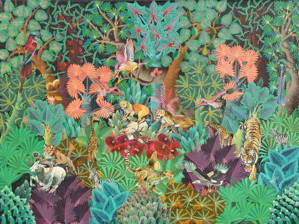 Alix George Calixtes, Jungle AnimalsRo Gallery