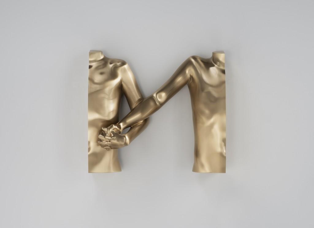 Torso 4 (bronze), 2016 (22x16x600)