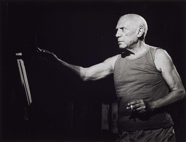 André Villers 'Le mystère Picasso' Nice, 1955.