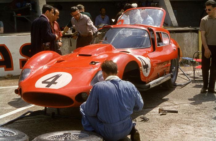 1962 Le Mans 24 Hour Maserati Tipo 151, Farbfotografie