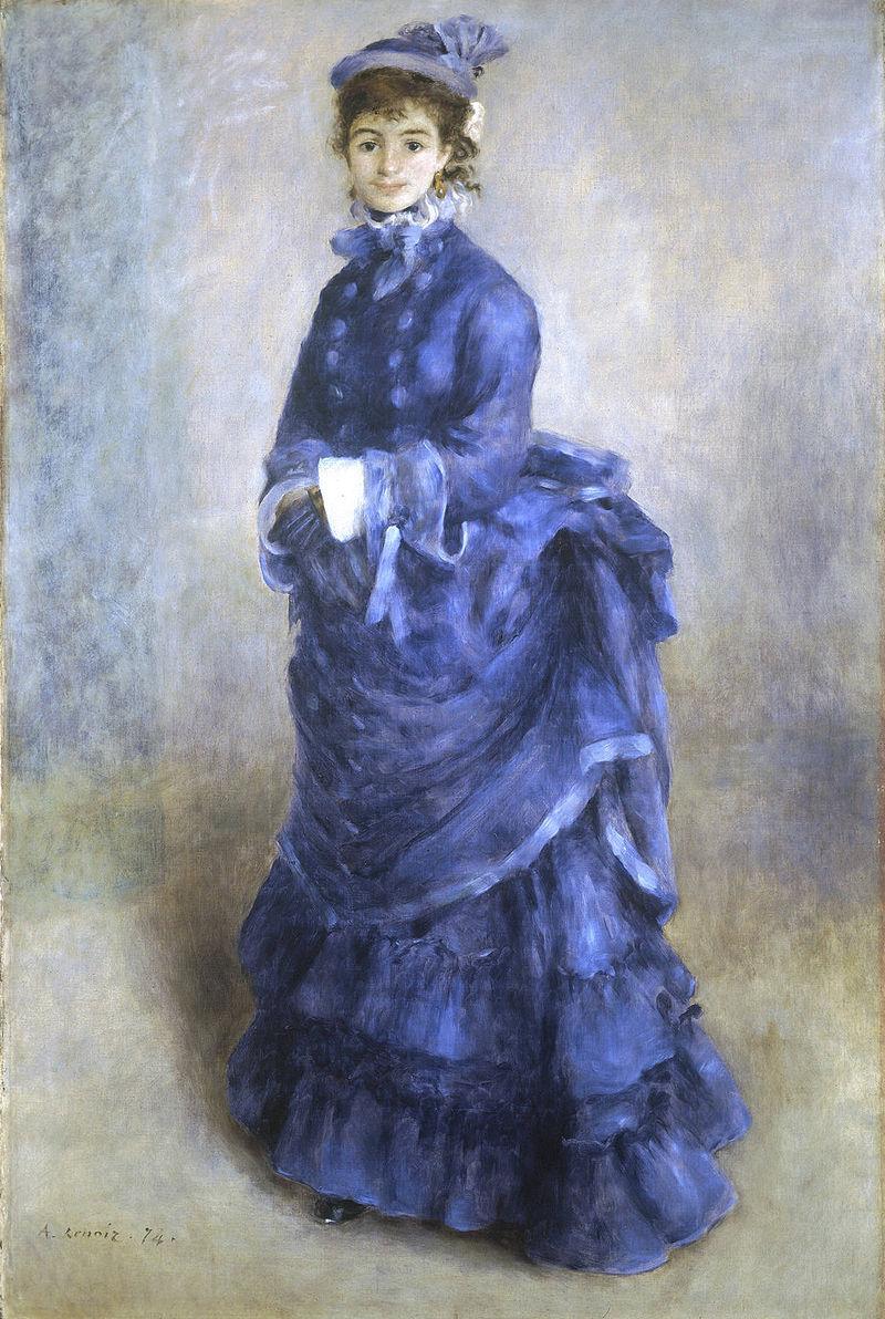 """Pierre-Auguste Renoir, """"La Parisienne"""" (1874)"""