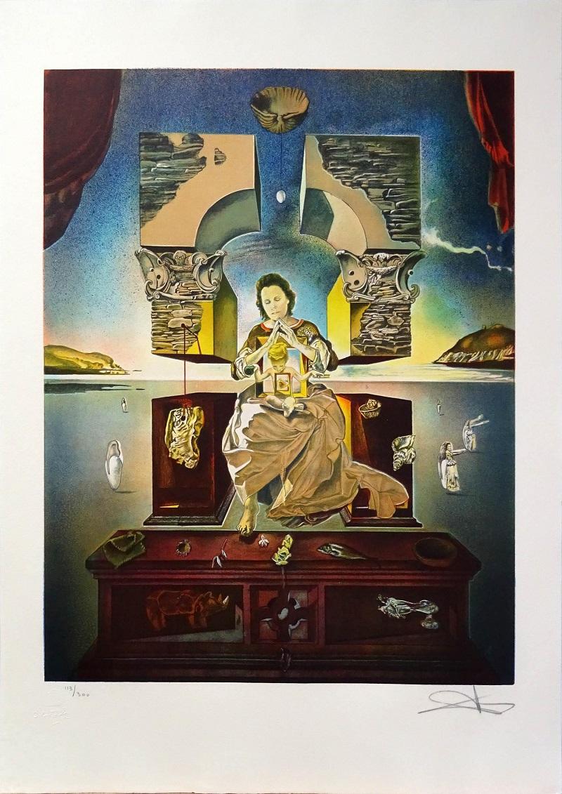 """SALVADOR DALÍ. """"La Madonna de Port Lligat"""" 113/300"""