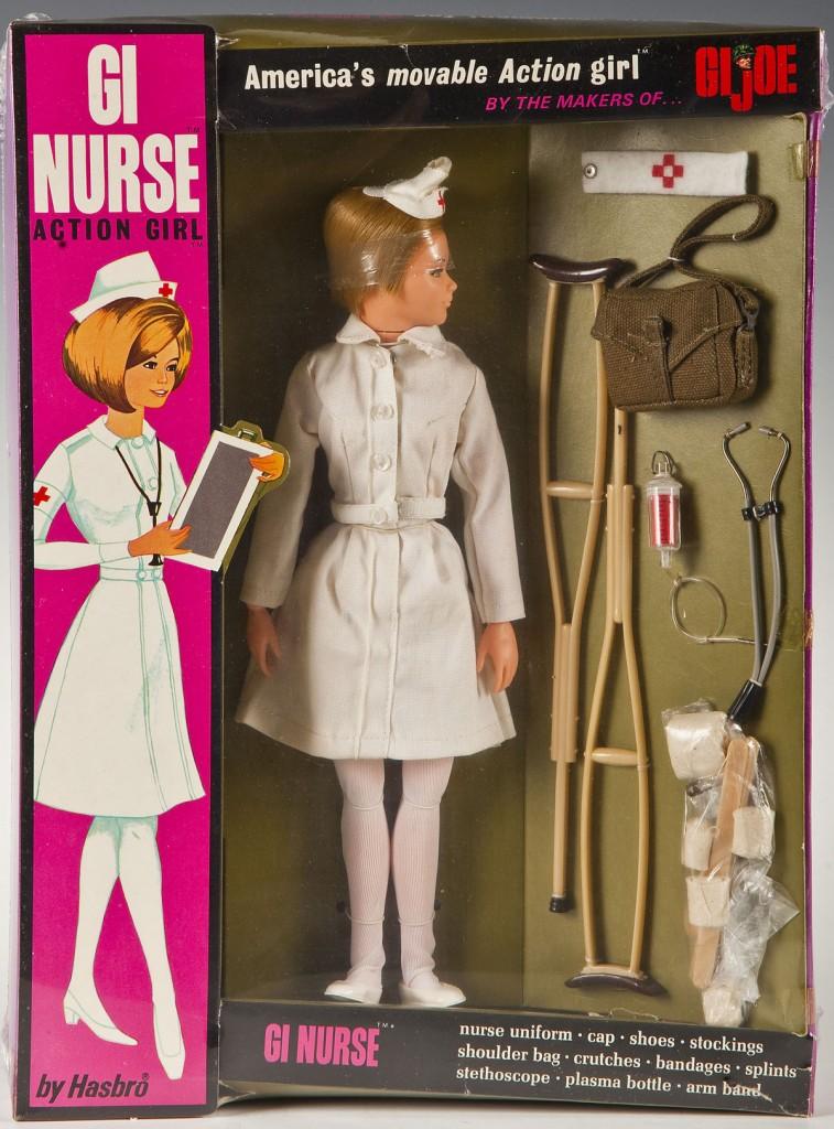 1967 GI Nurse in box