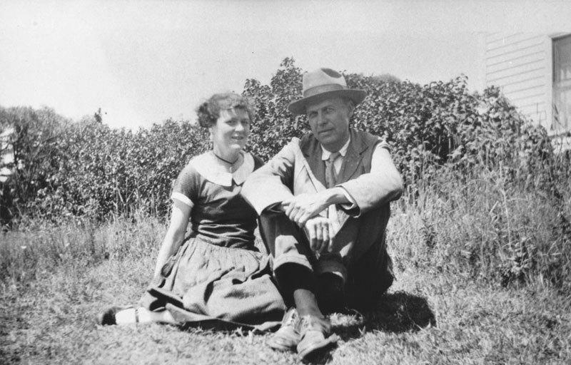Jo et Edward Hopper, image ©Hopper's Vermont