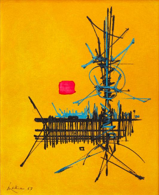 Georges Mathieu, 'Telesma', 1967. Photo: Leclere